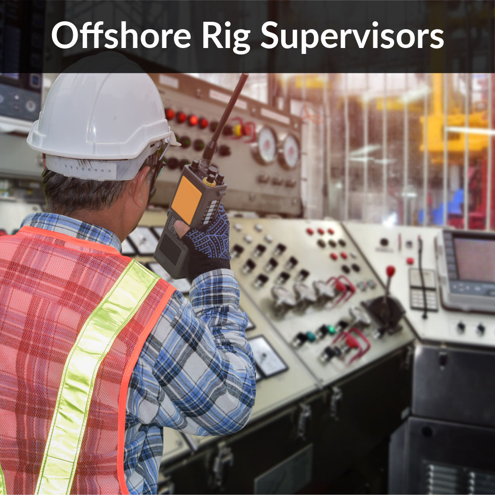 Deepwater-Offshore Rig Supervisors