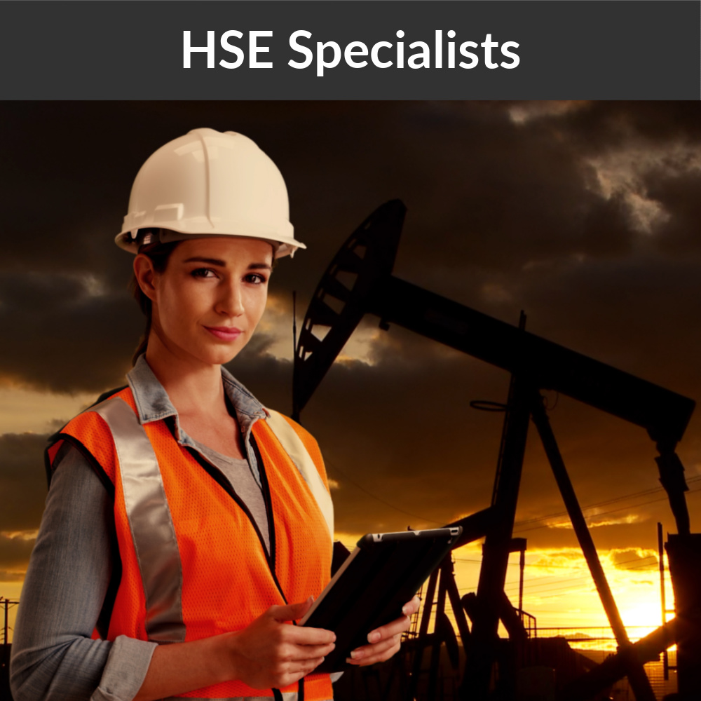 HSE Service in the oil field