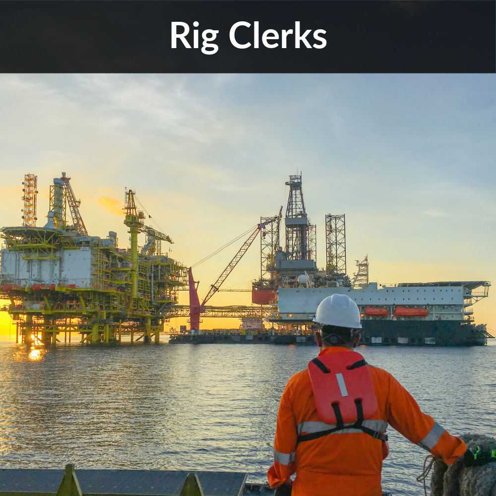 Deepwater-Drilling-Rig Clerks